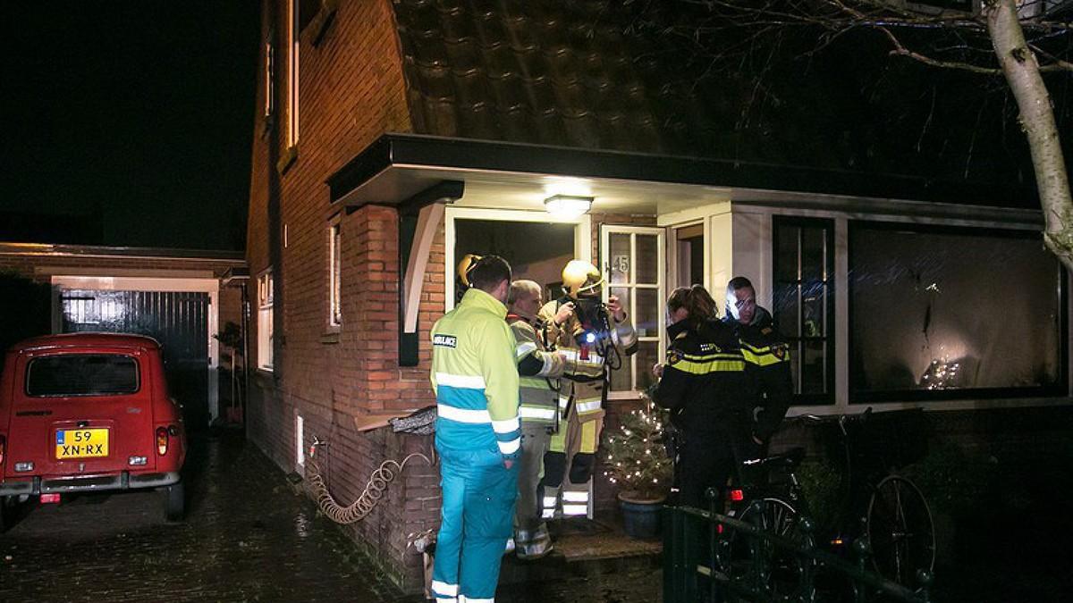 Nh zware rookschade voor larens huis na brand - Gerenoveerd huis voor na ...