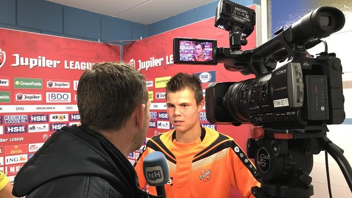 """Nick Runderkamp bij thuisdebuut: """"Ik dacht stiekem het is de winnende"""""""