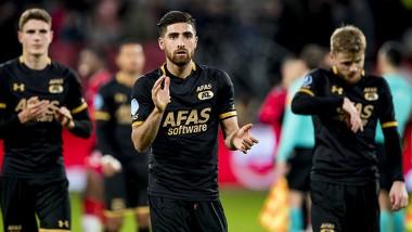 Teleurstelling overheerst bij AZ na gelijkspel in Utrecht