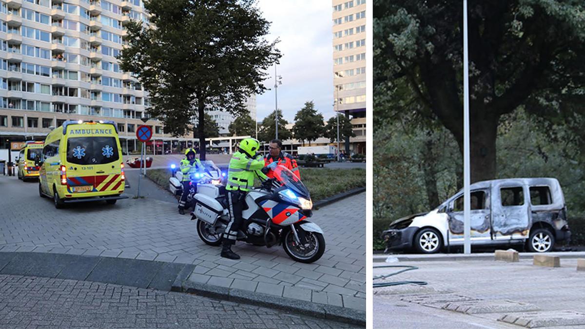 Nh Twee Gewonden Bij Schietpartij In Garage Amsterdam